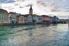 ciy Швейцария zurich Стоковая Фотография