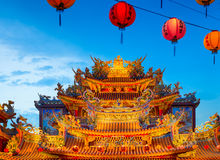 Ciyou Temple, Taipei - Taiwan Stock Photo