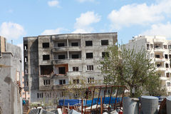 CIZRE WAS HIT DURING CLASHES Stock Images