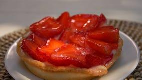 Cke με τις φράουλες απόθεμα βίντεο
