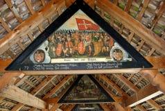 Cke del ¼ di Kapellbrà del ponte della cappella in Lucerna Fotografie Stock Libere da Diritti