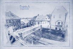Cke del ¼ de Liegenbrà Fotos de archivo