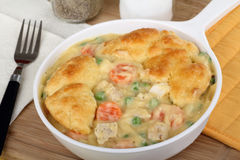 Ckhicken Pot Pie Stock Photos