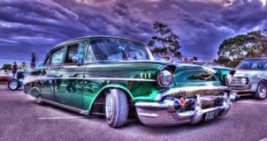 Clássico Chevy 1957 Fotografia de Stock