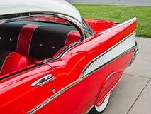 Clássico desportivo, Chevy 1957 Fotografia de Stock