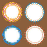Clássico do vetor do plano do círculo Ilustração do Vetor