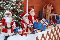 Cláusulas de Santa fotos de stock