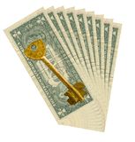 Clé à une prospérité Photo stock