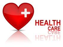 Clé au concept de santé de santé. Photos libres de droits