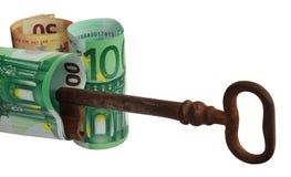 Clé au revenu Image stock