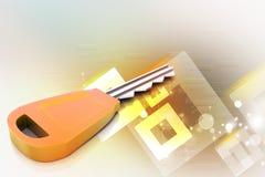 clé 3D Photo stock