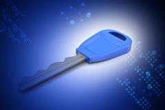 clé 3D Images libres de droits