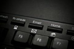 Clé d'email Image libre de droits