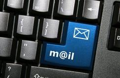 Clé d'email Photos libres de droits