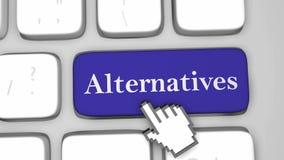Clé de clavier alternative illustration libre de droits