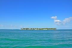 Clé de coucher du soleil à côté de Key West, la Floride, Etats-Unis Image libre de droits