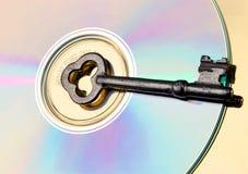 Clé de logiciel Images libres de droits