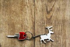 Clé de Noël Photos stock