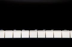 Clé de piano Photo stock