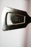 Clé de porte en métal Photo stock