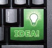 Clé de special d'idée Images libres de droits