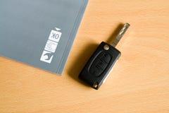 Clé de véhicule Images libres de droits