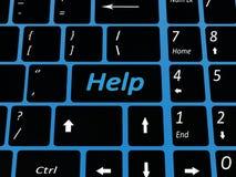 Clé emal de clavier Images libres de droits