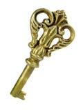 clé en bronze antique photographie stock
