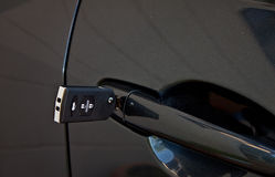 Clé moderne de véhicule Photos libres de droits