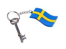 Clé vers la Suède Photos libres de droits
