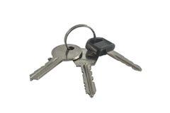 3 clés Photographie stock libre de droits
