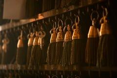 clés antiques d'hôtel Photo stock