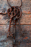 Clés antiques en métal Photos stock