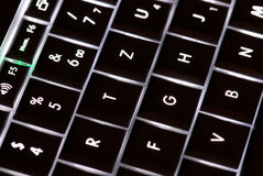 clés d'ordinateur portatif images libres de droits