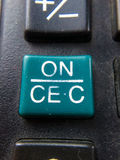 Clés de calculatrice Image libre de droits
