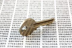 clés de chiffrement Photographie stock libre de droits
