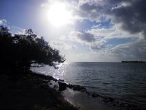 Clés de la Floride de début de la matinée Image libre de droits