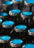 Clés de machine à écrire Image libre de droits