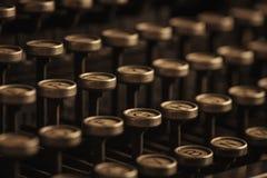 Clés de machine à écrire de vintage Image libre de droits