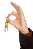 clés de main de groupe Photo stock