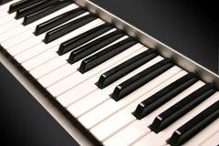 Clés de piano photos stock