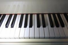 Clés de piano Image stock
