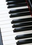 Clés de piano Images libres de droits
