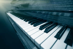 Clés de piano Images stock