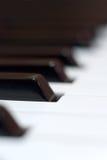 Clés de piano Photographie stock