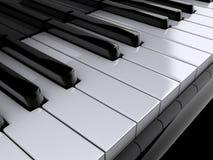 Clés de piano illustration de vecteur