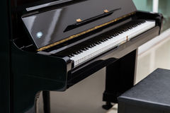 Clés de piano Photos libres de droits
