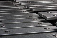 Clés de xylophone Photos libres de droits