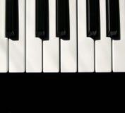 Clés du MIDI de clavier photographie stock libre de droits