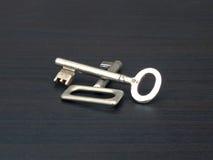 Clés en métal Photos stock